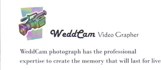 WeddCam Video Photographer