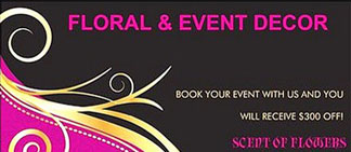 Scent of Flowers Floral & Event Decor