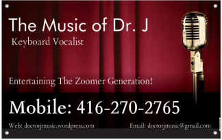 The Music of Dr. J Main Logo
